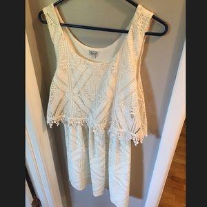 KISMET white lace dress